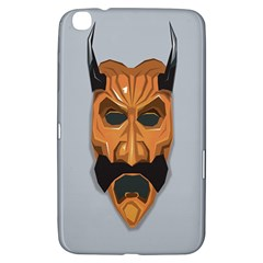 Mask India South Culture Samsung Galaxy Tab 3 (8 ) T3100 Hardshell Case