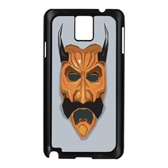 Mask India South Culture Samsung Galaxy Note 3 N9005 Case (black)
