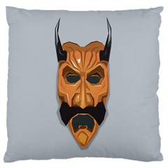 Mask India South Culture Standard Flano Cushion Case (two Sides)