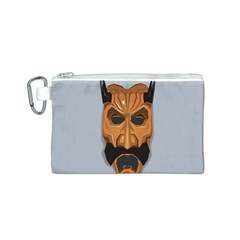 Mask India South Culture Canvas Cosmetic Bag (s)