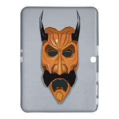 Mask India South Culture Samsung Galaxy Tab 4 (10 1 ) Hardshell Case