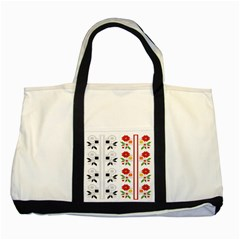 Bulgarian Folk Art Folk Art Two Tone Tote Bag