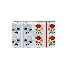 Bulgarian Folk Art Folk Art Cosmetic Bag (small)