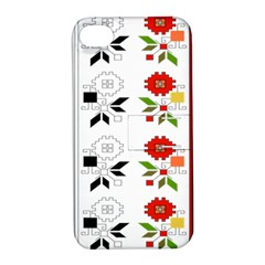 Bulgarian Folk Art Folk Art Apple Iphone 4/4s Hardshell Case With Stand