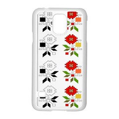 Bulgarian Folk Art Folk Art Samsung Galaxy S5 Case (white)
