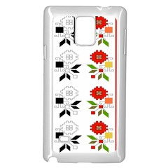 Bulgarian Folk Art Folk Art Samsung Galaxy Note 4 Case (white)