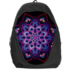 Mandala Circular Pattern Backpack Bag