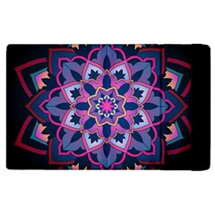 Mandala Circular Pattern Apple Ipad 2 Flip Case