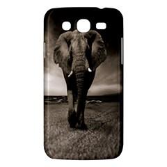 Elephant Black And White Animal Samsung Galaxy Mega 5 8 I9152 Hardshell Case