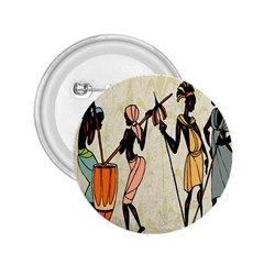 Man Ethic African People Collage 2 25  Buttons