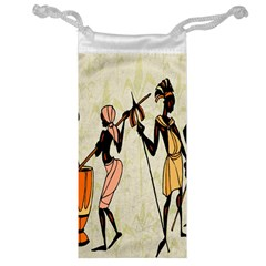 Man Ethic African People Collage Jewelry Bag