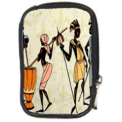 Man Ethic African People Collage Compact Camera Cases