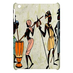 Man Ethic African People Collage Apple Ipad Mini Hardshell Case