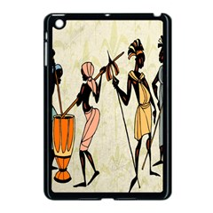 Man Ethic African People Collage Apple Ipad Mini Case (black)