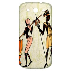 Man Ethic African People Collage Samsung Galaxy S3 S Iii Classic Hardshell Back Case