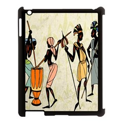 Man Ethic African People Collage Apple Ipad 3/4 Case (black)