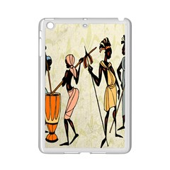 Man Ethic African People Collage Ipad Mini 2 Enamel Coated Cases