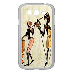 Man Ethic African People Collage Samsung Galaxy Grand Duos I9082 Case (white)