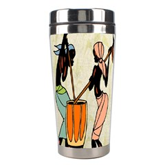 Man Ethic African People Collage Stainless Steel Travel Tumblers