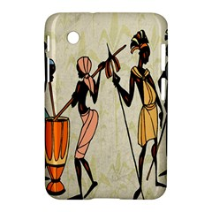 Man Ethic African People Collage Samsung Galaxy Tab 2 (7 ) P3100 Hardshell Case
