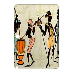 Man Ethic African People Collage Samsung Galaxy Tab Pro 10 1 Hardshell Case