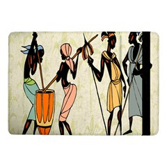 Man Ethic African People Collage Samsung Galaxy Tab Pro 10 1  Flip Case