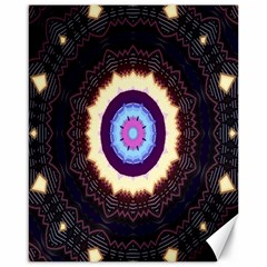 Mandala Art Design Pattern Canvas 16  X 20