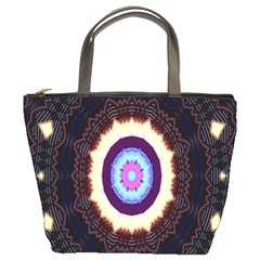 Mandala Art Design Pattern Bucket Bags