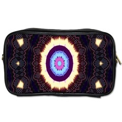 Mandala Art Design Pattern Toiletries Bags 2 Side