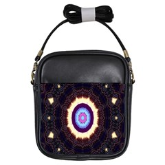 Mandala Art Design Pattern Girls Sling Bags