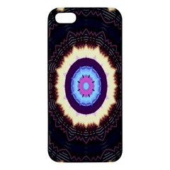 Mandala Art Design Pattern Apple Iphone 5 Premium Hardshell Case