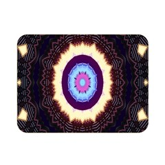 Mandala Art Design Pattern Double Sided Flano Blanket (mini)