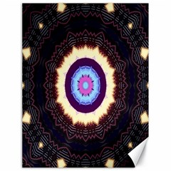 Mandala Art Design Pattern Canvas 18  X 24