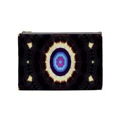 Mandala Art Design Pattern Cosmetic Bag (medium)