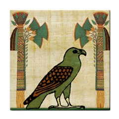 Egyptian Paper Papyrus Bird Tile Coasters