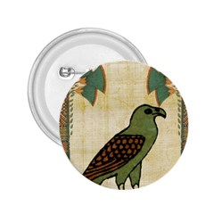 Egyptian Paper Papyrus Bird 2 25  Buttons
