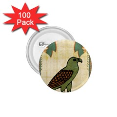 Egyptian Paper Papyrus Bird 1 75  Buttons (100 Pack)