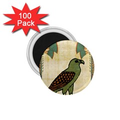 Egyptian Paper Papyrus Bird 1 75  Magnets (100 Pack)