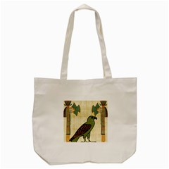Egyptian Paper Papyrus Bird Tote Bag (cream)