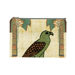 Egyptian Paper Papyrus Bird Cosmetic Bag (large)