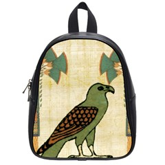 Egyptian Paper Papyrus Bird School Bag (small)