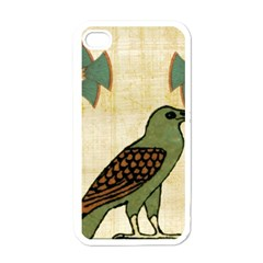 Egyptian Paper Papyrus Bird Apple Iphone 4 Case (white)