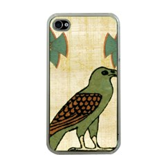 Egyptian Paper Papyrus Bird Apple Iphone 4 Case (clear)