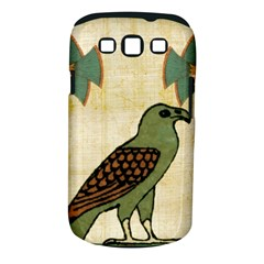 Egyptian Paper Papyrus Bird Samsung Galaxy S Iii Classic Hardshell Case (pc+silicone)