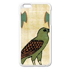 Egyptian Paper Papyrus Bird Apple Iphone 6 Plus/6s Plus Enamel White Case