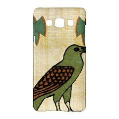 Egyptian Paper Papyrus Bird Samsung Galaxy A5 Hardshell Case