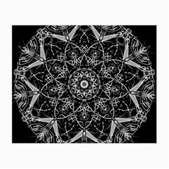 Mandala Psychedelic Neon Small Glasses Cloth (2 Side)