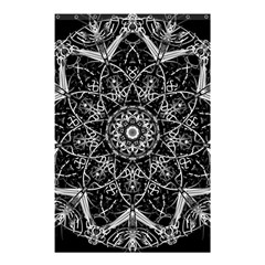 Mandala Psychedelic Neon Shower Curtain 48  X 72  (small)