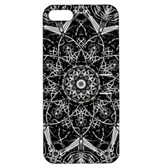 Mandala Psychedelic Neon Apple Iphone 5 Hardshell Case With Stand