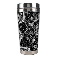 Mandala Psychedelic Neon Stainless Steel Travel Tumblers